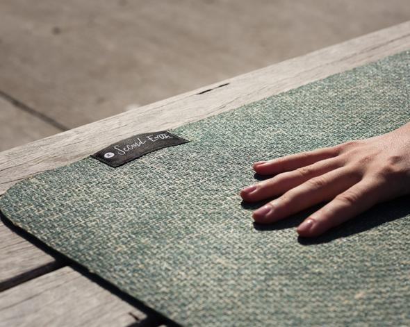 Forest Floor Green Yoga/Pilates Mat by Second Earth